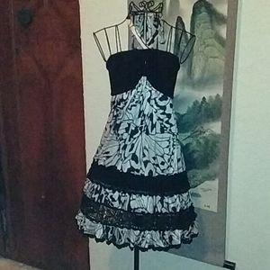 Bebe Strapless Dress 1B